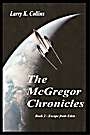 The McGregor Chronicles: Book 2 – Escape from Eden cover design