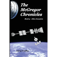 McGregor Chronicles 3 Alien Invasion Book image