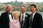 Letha Murl Larry Casey at Kim Wedding